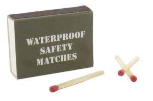 allumettes waterproof